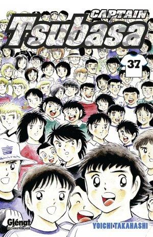 couverture, jaquette Captain Tsubasa 37 Réédition Française (Glénat Manga)