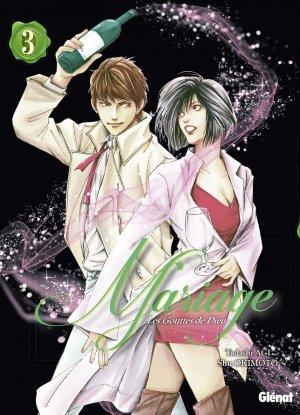 couverture, jaquette Les gouttes de dieu - Mariage 3  (Glénat Manga)