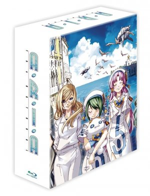 couverture, jaquette Aria - The Natural  Blu-ray (Mag garden) Série TV animée