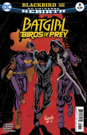 Batgirl and the Birds of Prey # 8 Issues V1 (2016 - 2018)