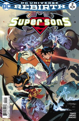 Super Sons # 2 Issues V1 (2017 - 2018)