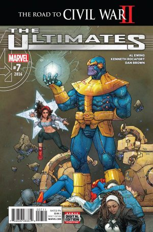 Ultimates # 7 Issues V2 (2015 - 2016)