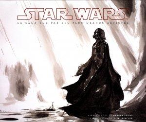Star wars - La saga vue  par les artistes édition TPB hardcover (cartonnée)