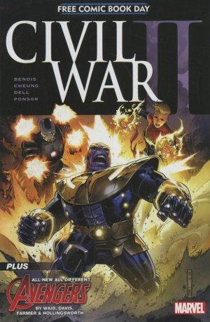 Free Comic Book Day 2016 - Civil War II # 1 Issues