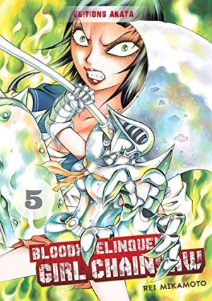 Bloody Delinquent Girl Chainsaw # 5