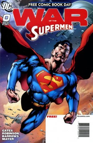 Free Comic Book Day 2010 - War of the Supermen # 1 Issues