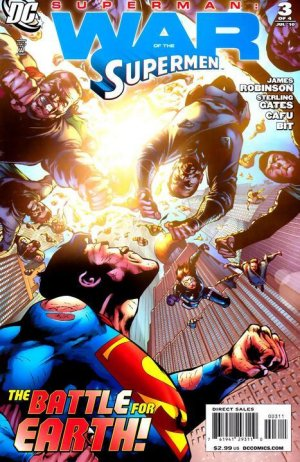 Superman - War of the Supermen # 3 Issues
