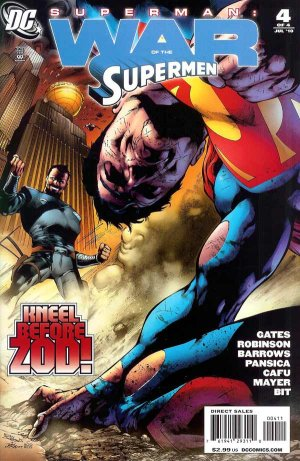 Superman - War of the Supermen # 4 Issues