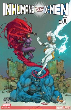 Inhumans Vs. X-Men édition Issues (2017)