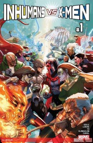 Inhumans Vs. X-Men # 1 Issues (2017)