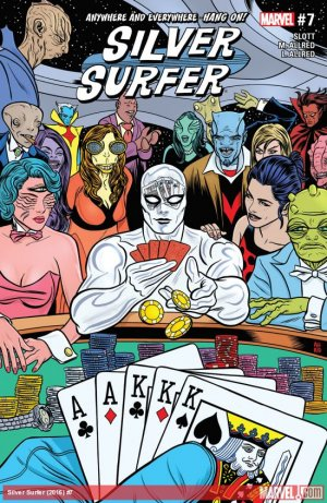 Silver Surfer # 7 Issues V8 (2016 - 2017)