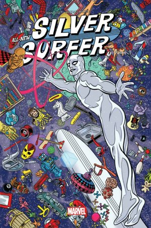 All-New Silver Surfer édition TPB hardcover (cartonnée)