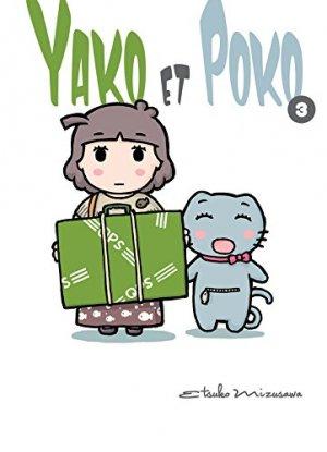 couverture, jaquette Yako et Poko 3  (Komikku Editions)