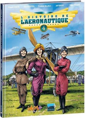 L'histoire de l'aéronautique 4 BD