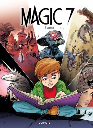 Magic 7 # 4 simple