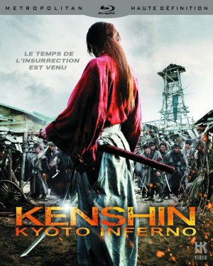Kenshin Kyoto inferno édition Blu-ray