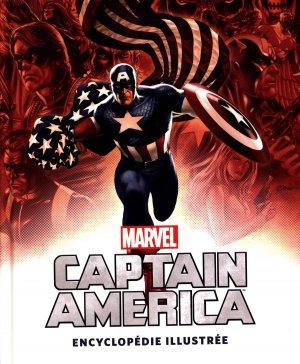 Captain America, l'Encyclopédie illustrée édition TPB hardcover (cartonnée)
