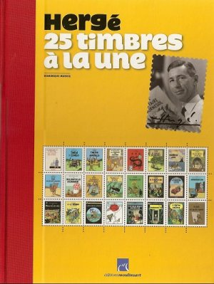 Hergé - 25 timbres à la une édition Limitée