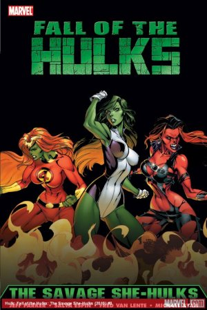 Fall of the Hulks - The Savage She-Hulks édition TPB softcover (souple)