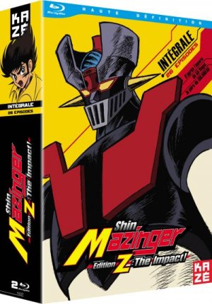 Shin Mazinger Edition Z : The Impact ! édition Intégrale Blu-ray
