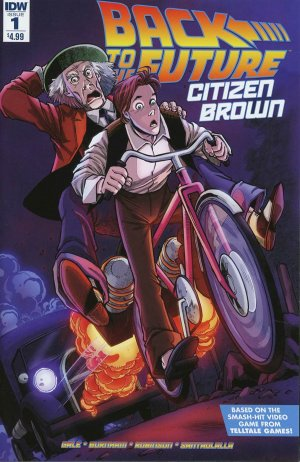 Back to the Future - Citizen Brown édition Issues