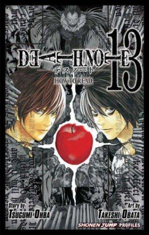couverture, jaquette Death Note vol.13 - How to Read   (Shueisha)