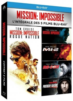 Mission Impossible Coffret 5 films édition Coffret Blu-ray