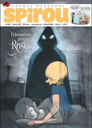 Le journal de Spirou 4109 - Frissons avec cRose