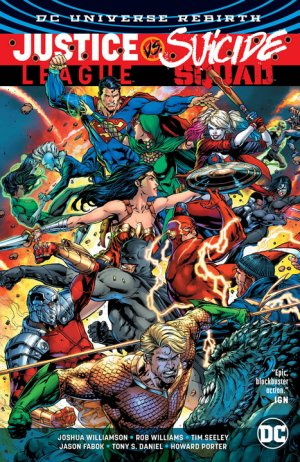 Justice League Vs. Suicide Squad édition TPB hardcover (cartonnée)