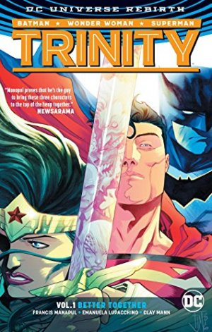 DC Trinity édition TPB hardcover (cartonnée) - Issues V2 - Rebirth