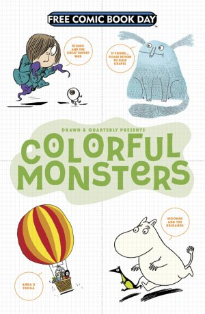 Free Comic Book Day 2017 - Colorful Monsters édition Issues