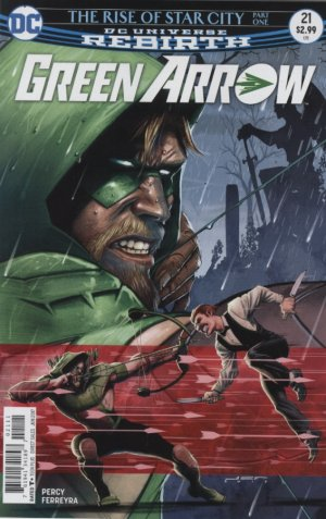 Green Arrow # 21 Issues V6 (2016 - Ongoing)
