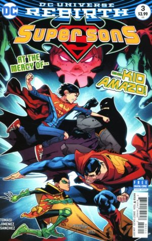 Super Sons # 3 Issues V1 (2017 - 2018)