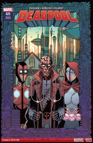 All-New Deadpool # 25 Issues V5 (2016 - 2018)