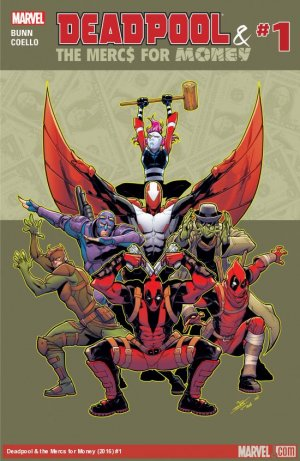 Deadpool and The Mercs For Money édition Issues V2 (2016 - 2017)