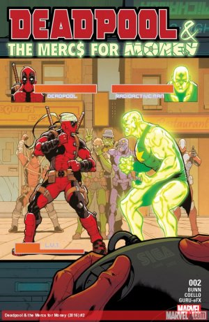 Deadpool and The Mercs For Money # 2 Issues V2 (2016 - 2017)