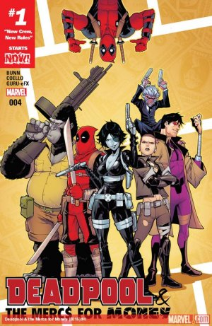 Deadpool and The Mercs For Money # 4 Issues V2 (2016 - 2017)