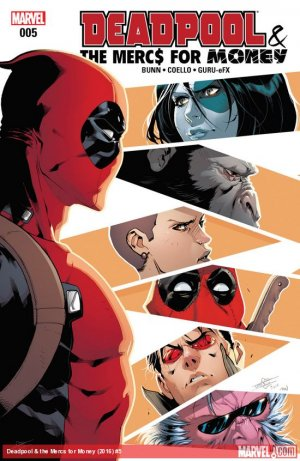 Deadpool and The Mercs For Money # 5 Issues V2 (2016 - 2017)