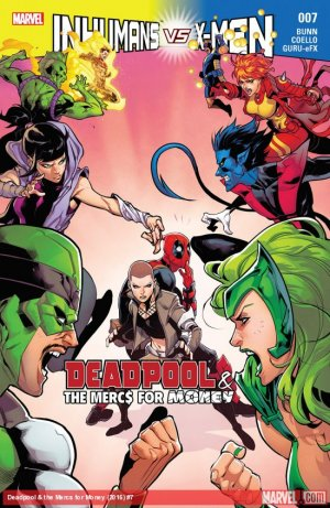 Deadpool and The Mercs For Money # 7 Issues V2 (2016 - 2017)