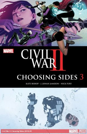 Civil War II - Choosing Sides # 3 Issues (2016)