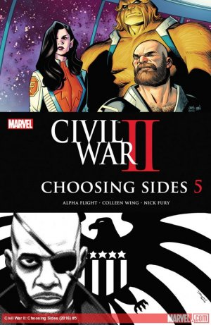Civil War II - Choosing Sides # 5 Issues (2016)