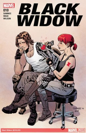 Black Widow # 10 Issues V6 (2016 - 2017)