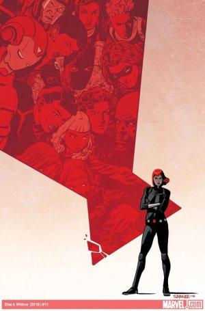 Black Widow # 11 Issues V6 (2016 - 2017)