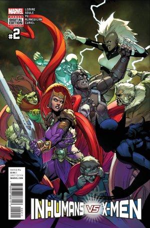 Inhumans Vs. X-Men # 2 Issues (2017)