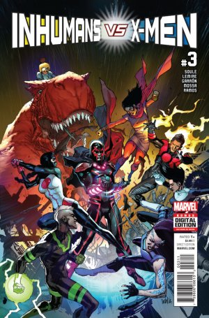 Inhumans Vs. X-Men # 3 Issues (2017)