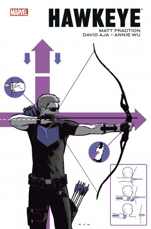Hawkeye par Fraction / Aja / Wu édition TPB hardcover (cartonnée)