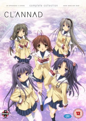 Clannad édition Clannad Complete Series Collection [DVD] UK