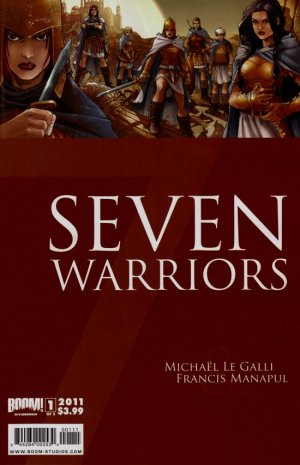 Seven Warriors édition issues (2011-2012)