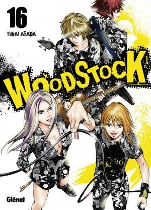 couverture, jaquette Woodstock 16  (Glénat Manga)