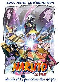 Naruto film 1 - Naruto et la princesse des neiges édition DVD
